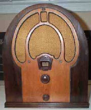 1932 Philco Model 80 Cathedral